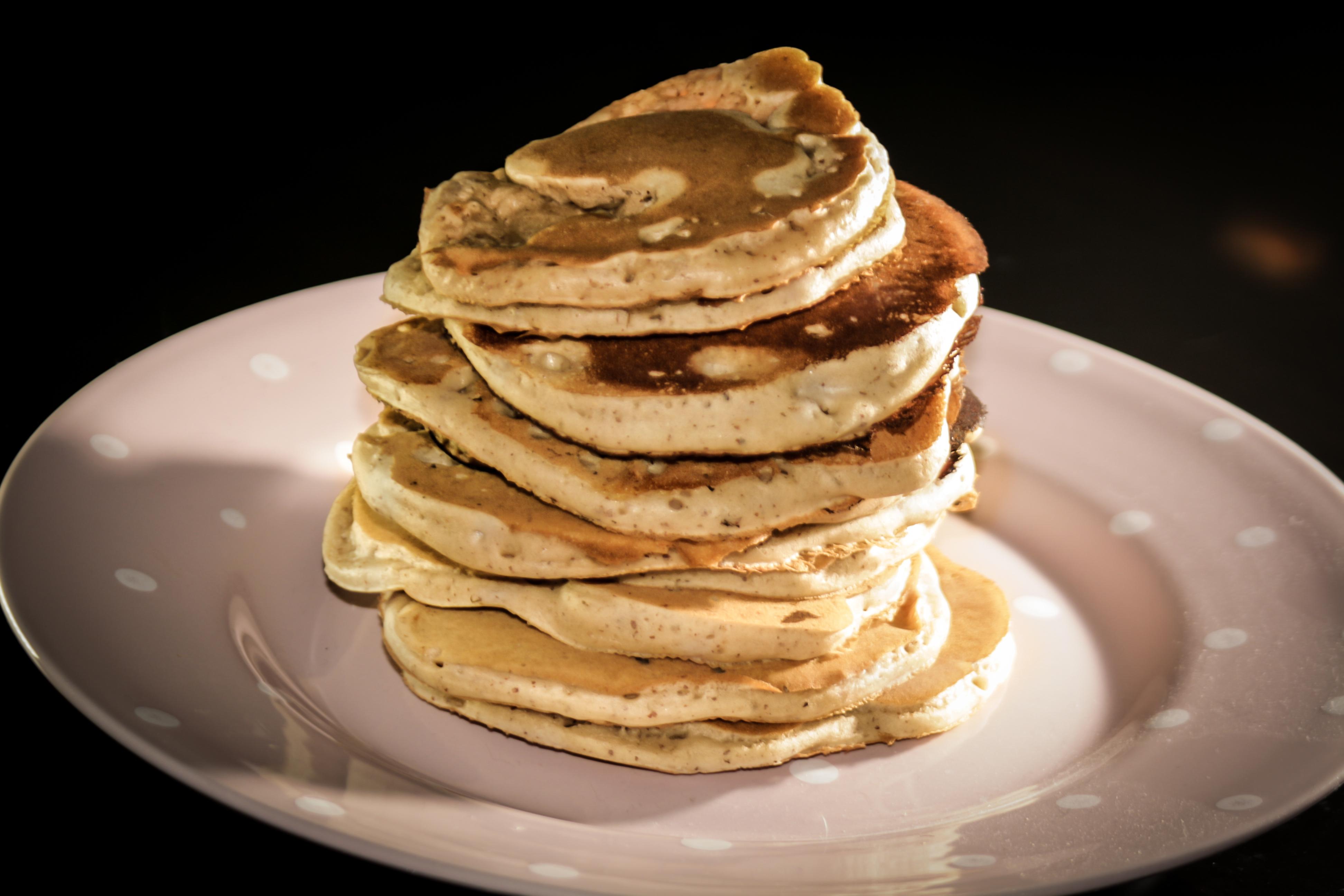 Pancakes vegan gourmands the vegan pinup - Petit dejeuner vegan ...